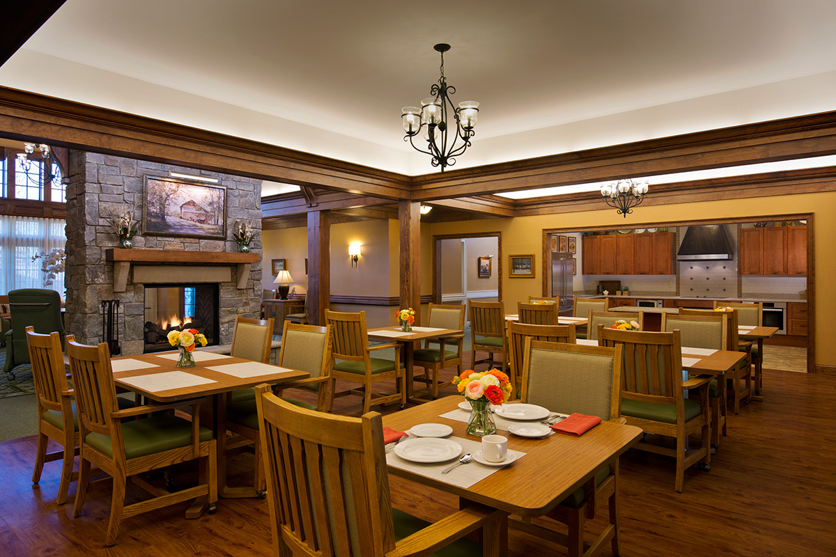 Assisted Living Residence Dining Room Albany, NY